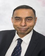 Dr Ranjit More, Staff Governor for Medical and Dental