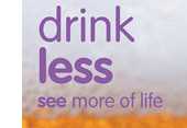 Drink Less - see more of life