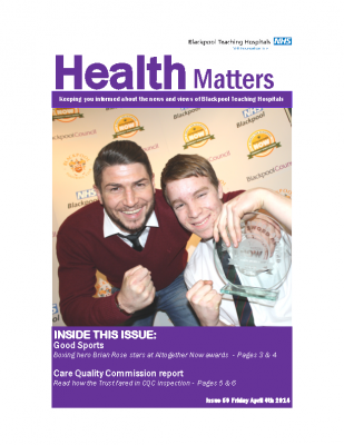 Health Matters Issue 59 2014