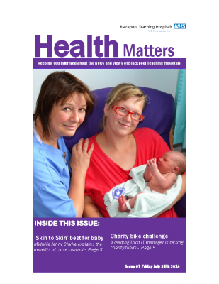 Health Matters Issue 67 final web version IK  2014