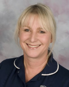 Sharon Vickers, Staff Governor for Nursing and Midwifery
