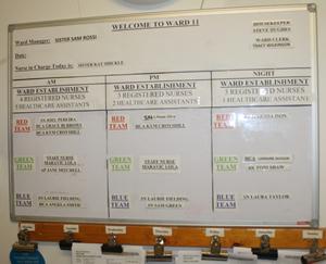 Staffing Information Board