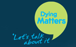 "Logo - Dying Matters ""Let's talk about it"""