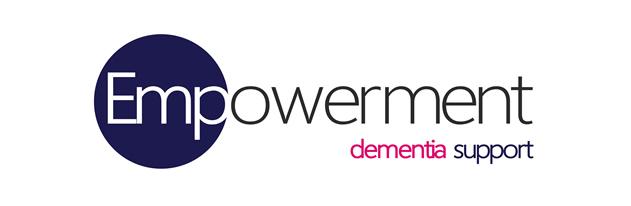 Logo, text reads: Empowerment dementia support