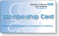 Picture of a membership card