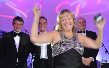 Blackpool NHS Trust Celebrating Success Awards 2015- Golden Heart award winner Andrea Lewis.