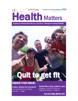 Health Matters Issue 112 – Friday, April 15, 2016