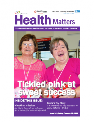 Health Matters Issue 108, Friday, February 19, 2016