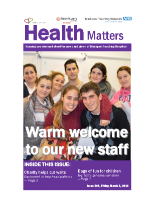 Health Matters Issue 109