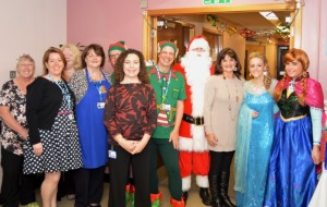 Clifton Hospital has held a number of events to raise money for Blue Skies Hospitals Fund's Peace of Mind dementia appeal, including last year's Christmas Fair, opened by Anne Nolan