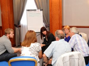 Patients and carers putting forward their views at last year's event