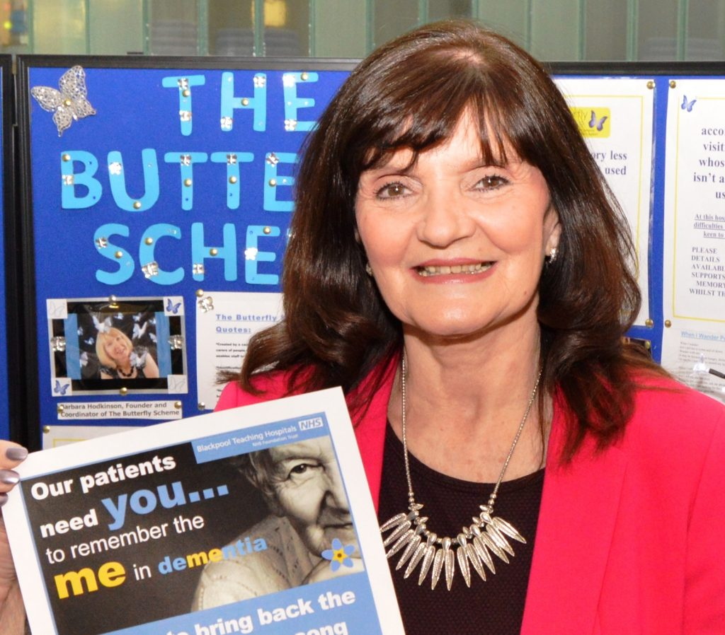 Singer Ann Nolan at last year's dementia event