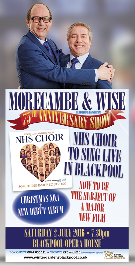 The Morecambe and Wise tribute show poster