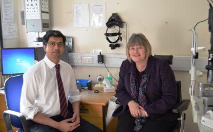 Mr Rajeev Tanawade and Susan Wharton