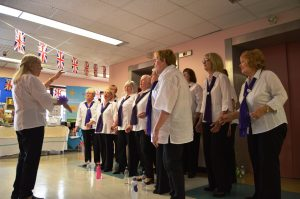 Soundwaves choir in motion Clifton Carer's Day May 19
