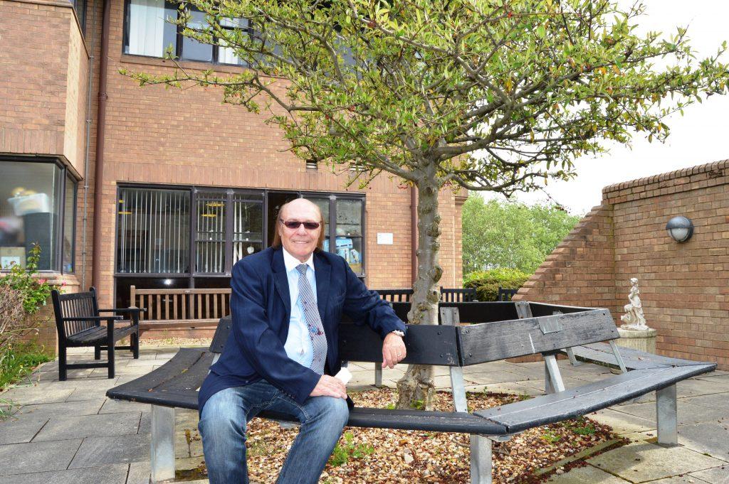 Mick Miller at Clifton Hospital