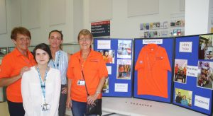 Valerie Flaherty, Jess Dowd, Catherine Henshaw and Mags Kelly at Blackpool Victoria Hospital