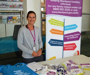 Nicola Unsworth from Blackpool Family Information Service