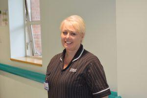 Paula Vernon, Clinical Matron for the team