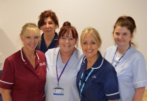 Members of the Nurse Practitioners' Team at Blackpool Teaching Hospitals