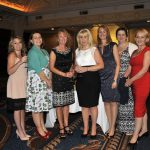 Winner of The Gazette's Special Recognition Award, the End of Life and Palliative Care Team, from left, Kellie Gittins, Dr Harriet Preston, Lisa Gowland, Lorraine Tymon, Julie Summers, Carolyn Haydon and Dr Andrea Whitfield at the Best of Health Awards