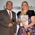 Midwife of the Year Winner Chantelle McGovern from at the Blackpool Gazette Best of Health Awards