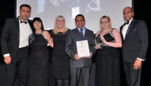 Staff from Blackpool Teaching Hospitals NHS Foundation Trust's procurement team receive the 2016 Excellence in Supply Award organised by the North West Procurement Development organisation © CHRIS TOFALOS/CTP PHOTO e: chris@ctp-mail.co.uk m: 07768 624805