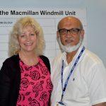 Dr Susnerwala with medical secretary Sue Biddlestone