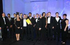 The Patient Tracker Team, winner of the Non-Clinical Team of the Year