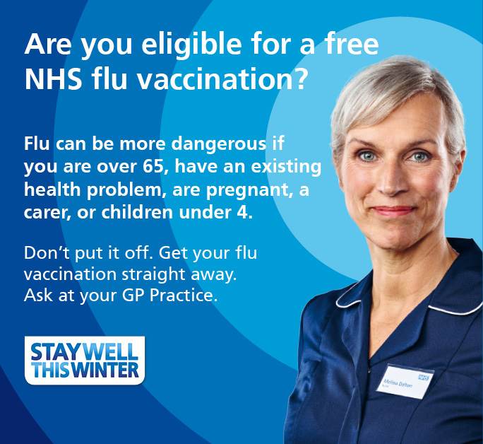 Image result for flu vaccination 2019 nhs