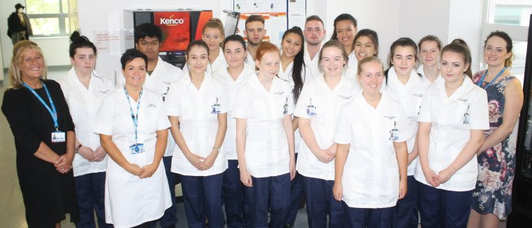 AN innovative new scheme to offer young adults the chance to gain first-hand experience of working in the NHS has got off to a flying start.        Blackpool Teaching Hospitals NHS Foundation Trust has joined forces with St MaryÂ's Catholic College to launch a new Health Academy which will offer...