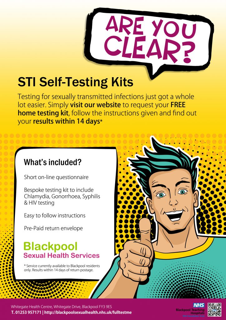 Nhs sexual health test post
