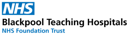 Blackpool Teaching Hospitals NHS Foundation Trust Logo