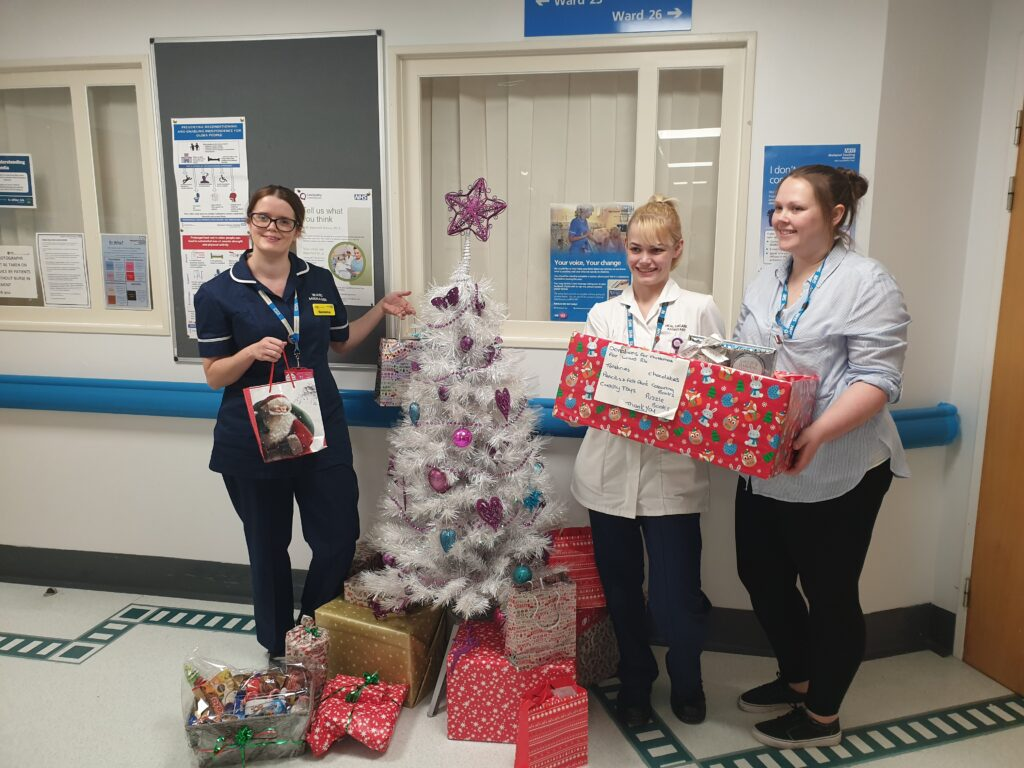 Bringing Festive Fun To Patients In Blackpool Victoria