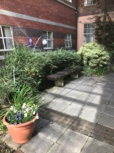 Chapel Garden bench