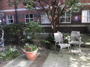Chapel garden