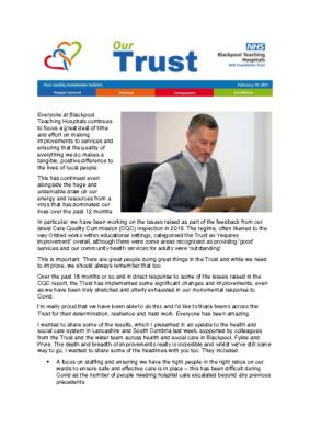 Issue 4 – Stakeholder bulletin