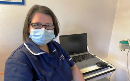 Donna Hargreaves, Practice Development Sister at Clifton Hospital