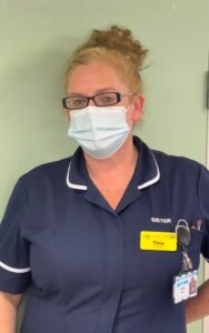 Sister Tina Welsh of Ward 2 at Clifton Hospital