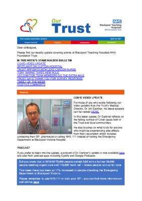16042021 Stakeholder bulletin
