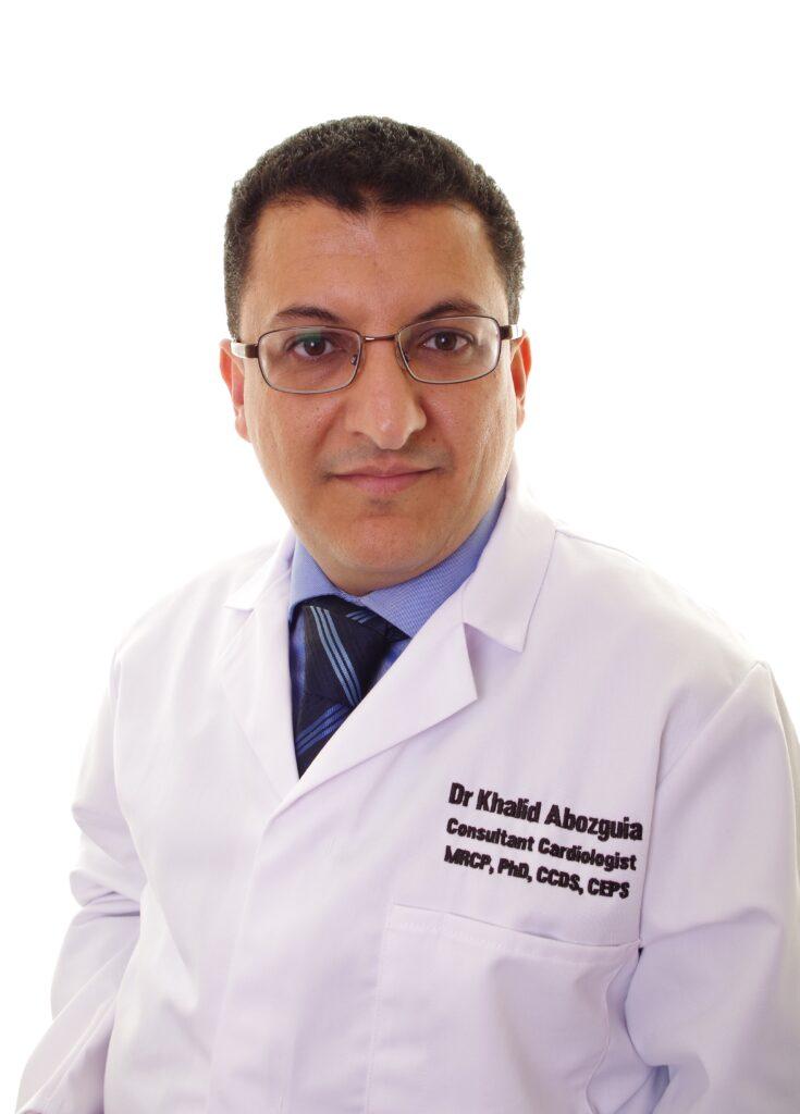 Dr Khalid Abozguia, the clinical lead for cardiac electrophysiology