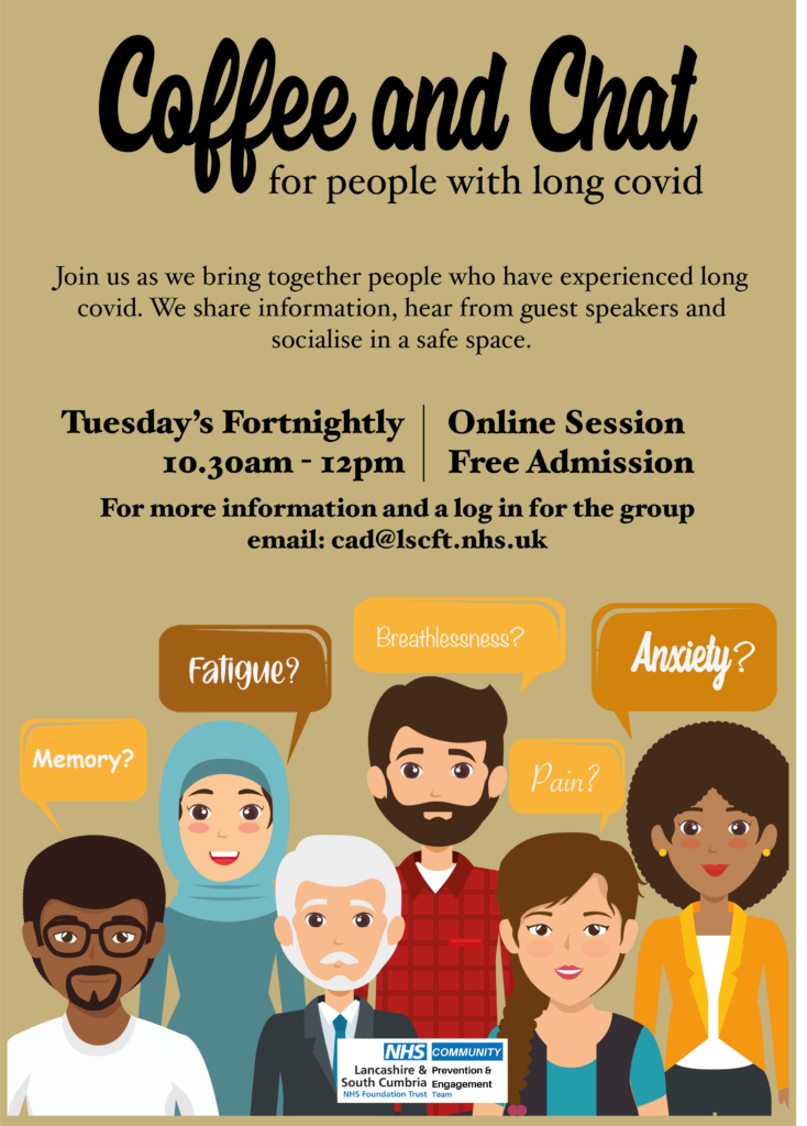 Long COVID Coffe and Chat sessions